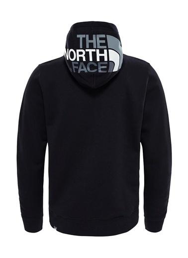 The North Face Seasonal Drew Peak Erkek Sweatshirt Siyah Siyah